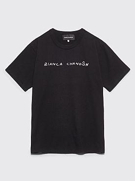 Bianca Chandôn Handwritten Logo T-shirt Black