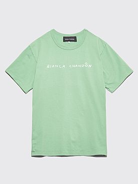 Bianca Chandôn Handwritten Logo T-shirt Cactus