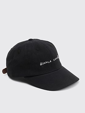 Bianca Chandôn Handwritten Logo Hat Black