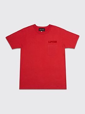 Bianca Chandôn Lover Pocket T-shirt Red