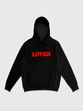 Bianca Chandôn Lover Pullover Hooded Sweatshirt Black