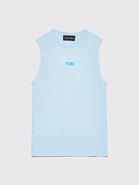 Bianca Chandôn x Tom Bianchi Tom Sleeveless T-shirt Blue