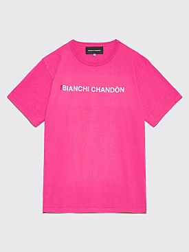 Bianca Chandôn x Tom Bianchi Logo T-shirt Pink