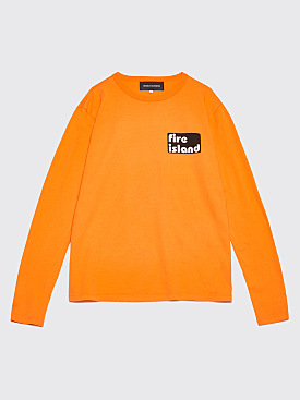 Bianca Chandôn x Tom Bianchi Fire Island Longsleeve T-shirt Orange