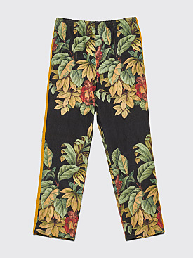 Bode Tree Scene Monkey Print Pants Black / Green
