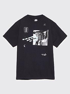 Brain Dead Secret Meanings T-Shirt Black
