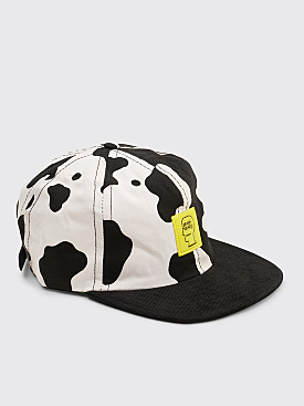 Brain Dead Cow Hat 5 Panel Black / White