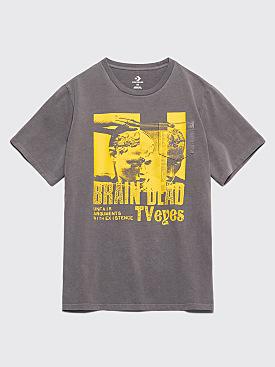 Brain Dead x Converse Pocket T-shirt Anthracite