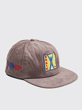 Brain Dead Start Up Corduroy Cap Grey