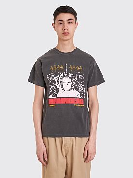 Brain Dead Visitation T-shirt Charcoal