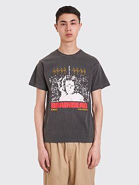 Brain Dead Visitation T-shirt Charcoal