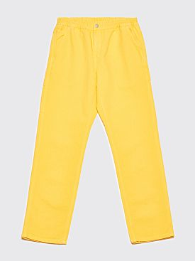Brain Dead x Carhartt WIP Beach Carpenter Trousers Lemon