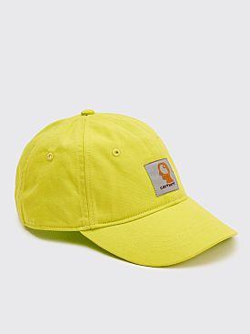 Brain Dead x Carhartt WIP Logo Cap Lime