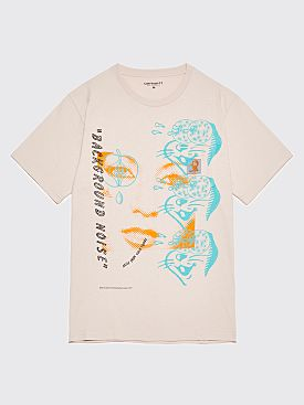Brain Dead x Carhartt WIP Noise Pocket T-Shirt Beige