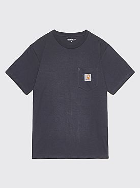 Brain Dead x Carhartt WIP Anti Vital Pocket T-Shirt Graphite