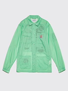 Brain Dead x Carhartt WIP Chore Coat Green