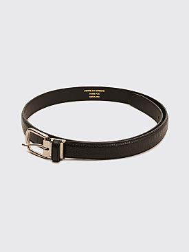 Comme des Garçons Homme Plus Cowhide Belt Black