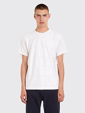 Comme des Garçons Homme Plus Brick Patches T-Shirt White