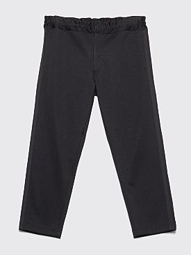 Comme des Garçons Homme Plus Smooth Side Stripe Pants Black