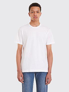 Comme des Garçons Shirt Basic T-Shirt White