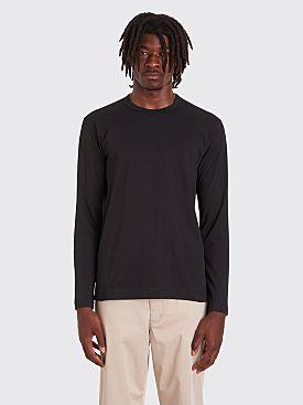 Comme des Garçons Shirt Forever Long Sleeve T-Shirt Black