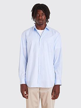 Comme des Garçons Shirt Forever Narrow Classic Shirt Dobby Stripe Blue
