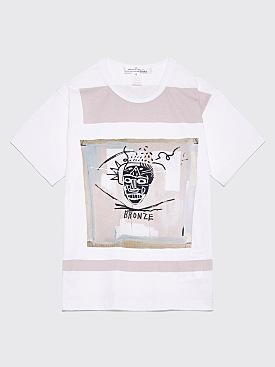 Comme des Garçons Shirt Jean-Michel Basquiat T-Shirt White / Beige