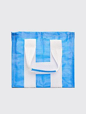 Comme des Garçons Shirt Tote Bag Blue
