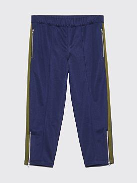 Comme des Garçons Shirt Cropped Track Pants Navy