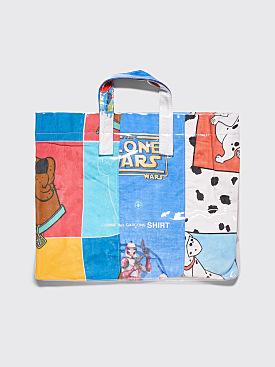 Comme des Garçons Shirt PVC Tote Bag Blue 1