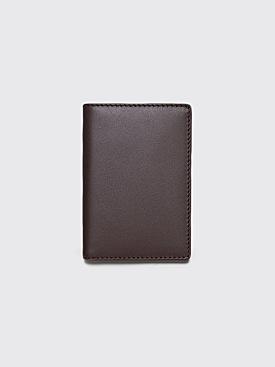 Comme des Garçons Wallet SA6400 Brown