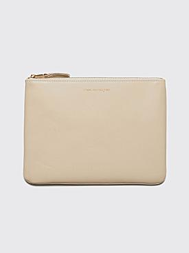 Comme des Garçons Wallet SA5100 Cream White