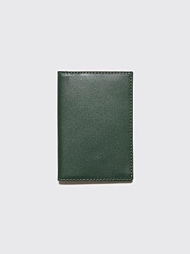 Comme des Garçons Wallet SA6400 Bottle Green