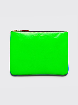 Comme des Garçons Wallet SA5100 Super Fluo Blue / Green