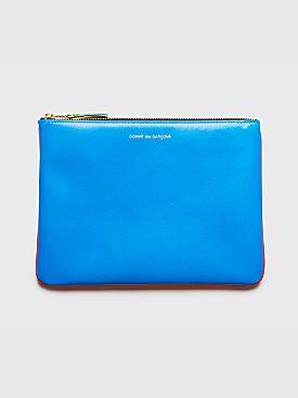 Comme des Garçons Wallet SA5100 Super Fluo Orange Blue