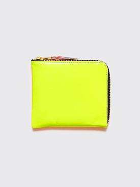 Comme des Garçons Wallet SA3100 Super Fluo Yellow / Orange