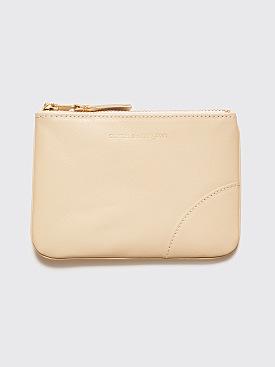 Comme des Garçons Wallet SA8100 Cream White