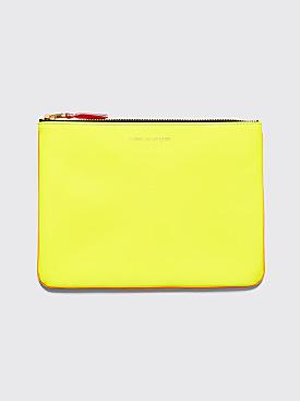 Comme des Garçons Wallet SA5100 Super Fluo Yellow / Orange