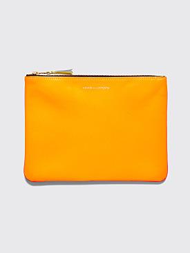 Comme des Garçons Wallet SA5100 Super Fluo Orange / Pink