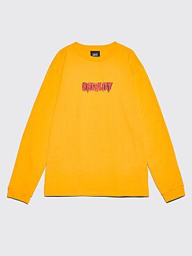 Château Fatality Long Sleeve T-Shirt Orange