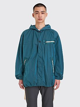 CLAMP Short Rain Coat Turquoise