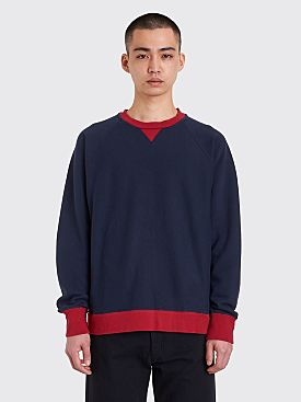 CLAMP Long Sleeve Sweatshirt Navy