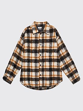 CMMN SWDN Sergey Shirt Jacket Brown Check