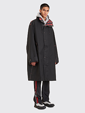 CMMN SWDN Ivan Car Coat Black