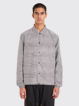 CMMN SWDN Igor Coach Jacket Prince Of Wales Check
