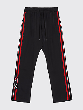 CMMN SWDN Buck Track Pants Black / Red