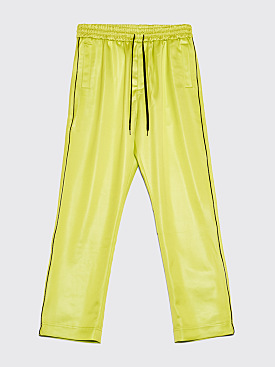 CMMN SWDN Buck Track Pants Acid Green