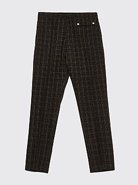 CMMN SWDN Stenson Tapered Pants Neon Check