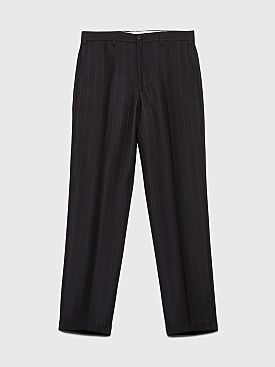 Cobra S.C. Classic Wool Pants Black / Red Pinstripe