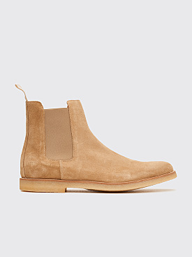 Common Projects Chelsea Boots Tan